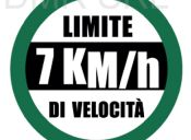 Speed limit 7 km/h