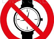 No entry with mechanical watches