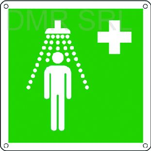 HORIZONTAL ADHESIVE SIGNS  - Emergency adhesive signs  - A260
