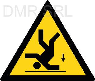 HORIZONTAL ADHESIVE SIGNS  - Danger triangular adhesive signs - A340
