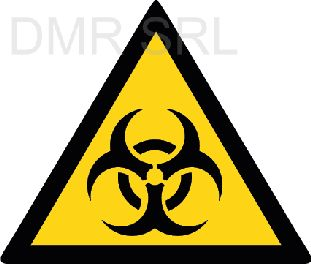 HORIZONTAL ADHESIVE SIGNS  - Danger triangular adhesive signs - A343