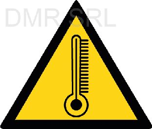 HORIZONTAL ADHESIVE SIGNS  - Danger triangular adhesive signs - A344