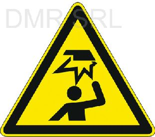 HORIZONTAL ADHESIVE SIGNS  - Danger triangular adhesive signs - A367