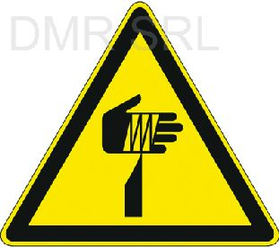 HORIZONTAL ADHESIVE SIGNS  - Danger triangular adhesive signs - A368